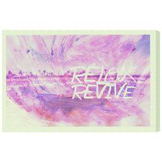 Remedy Runway Avenue 'Revive' Art (24x16)