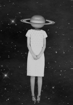 Image via We Heart It https://weheartit.com/entry/144897927 #alien #art #black #galaxy #grunge #hipster #planet #white #woman