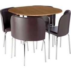Argos Table Top Dishwasher : Hygena Amparo Oak Effect Dining Table and 4 Chocolate Chairs at Argos ...