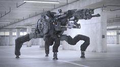 robot by Gavriil Klimov, Sci-Fi, robot  http://www.gavriilklimov.com/#1