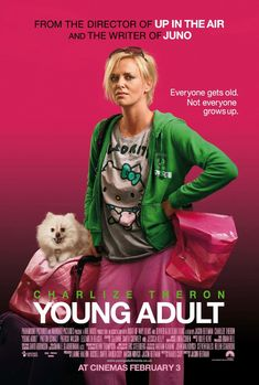 Young Adult - love the poster, but the movie wasn't that funny and kind of sucked IMO