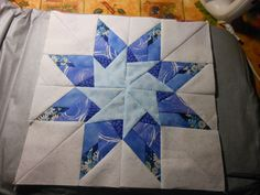Paper Pieced Arizona Star