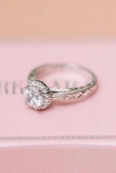 18 Amazing Kirk Kara Engagement Rings ❤ See more: http://www.weddingforward.com/kirk-kara-engagement-rings/ #wedding #kirk #kara #engagement #rings