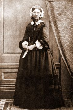 Florence Nightingale: Born into wealth and social status, Florence gave it all away to serve. She brought nursing up from a professional of scorn to the honored position it has today. Florence risked her life to save others and continues to inspire women to care for those in need