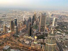 El Downtown desde el Burj Khalifa