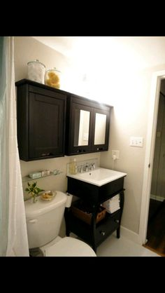 Apartment bathroom storage ideas new tiny bathroom storage ideas pretty small of stocks towel tiny bathroom . Bathroom Renos, Bathroom Storage, Bathroom Ideas, Basement Bathroom, Bathroom Cabinets, Bathroom Designs, Restroom Cabinets, Wall Storage, Washroom