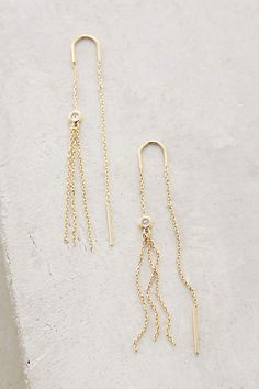 Paola Threaded Earrings - anthropologie.com
