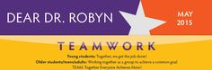"""Dear Dr. Robyn, My daughter is on a team that has some girls with a lot of talent but they don't tend to win…If I'm being honest, there is one real """"star"""" to the team but she somehow makes th…"""