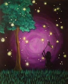 Catching Fireflies, Pinot's Palette,  12245 Voyager Parkway Suite 162 Colorado Springs, CO 80921  NorthgateVillage@pinotspalette.com