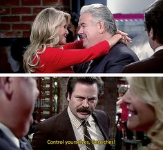 And when he couldn't stand PDA. | 19 Times You And Ron Swanson Were Basically The Same Person