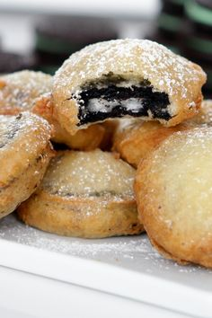 """As soon as we hear the words """"deep-fried Oreos,"""" our mouths start to salivate. It's a carnival fair staple, and we're going to show you how easy it is to make it at home!"""
