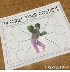 A Perfect Blend : Halloween-Themed Language Tricks & Activities