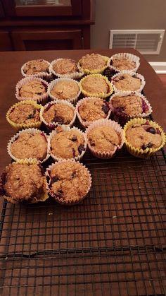 Blueberry Muffins!!