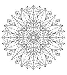 Coloriage on pinterest free coloring pages anti stress - Mandalas adultes gratuits ...