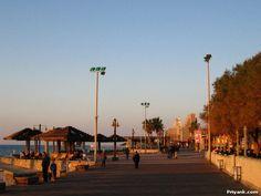 Haifa Beach at Sunset