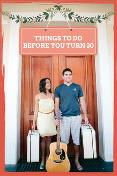 The big 30 is a scary thing for most, but there's no better way to celebrate it than to take stock of all the wonderful experiences you've had. Heres our list of what you should try before you turn 30.