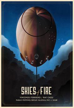 Skyes Of Fire Poster by rodolforever.deviantart.com on @deviantART