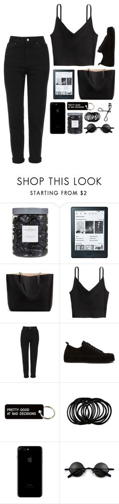 """You wrote 100 letters just for me, And I find them in my closet in the pockets of my jeans."" by povring ❤ liked on Polyvore featuring Threshold, Amazon, Topshop, Ann Demeulemeester, Various Projects and Bobbi Brown Cosmetics"