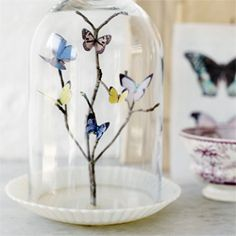 Incredible butterfly art! And it's really simple to make!