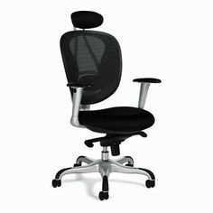Offices To Go Mesh Executive Office Chair Executive Office Chairs, Home Office Chairs, Office Furniture Design, New Furniture, Chairs For Bedroom Teen, Wooden Armchair, High Back Office Chair, Ikea Chair, Ergonomic Office Chair