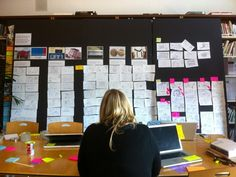 Synthesis stage of  human-centered design project, IDEO.org