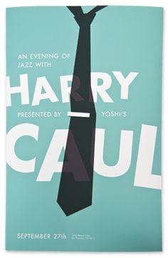 Harry Caul gig poster