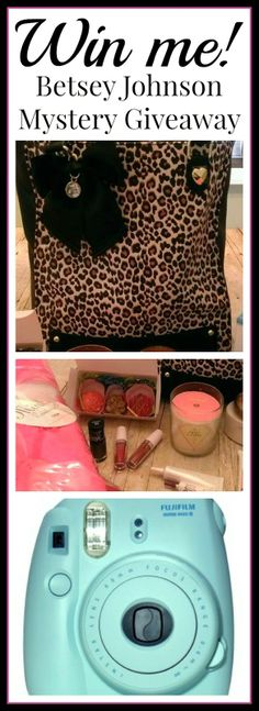 #Betsey Johnson Mystery Purse #Giveaway!  http://www.styledecordeals.com/2014/03/betsey-johnson-mystery-purse-giveaway.html