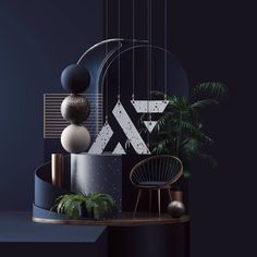 Everything about this is navy inspiration! :@petertarka @avant_form Exhibition Stall Design, 2 Instagram, Art Direction, Presentation, Chandelier, Palm, Ceiling Lights, Explore, Interior Design