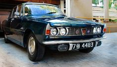 The Rover 2000 Classic Cars in Sri Lanka