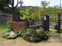 坪庭『土塀』