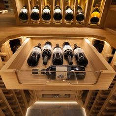 Wine cellar joinery lighting    #sorrellswineracks #luxurylife #winelover #wine #winenight #instawine #homedecor #winenight #winetasting #winecellar #redwine #winerack Bar Lighting, Wine Cellar, Joinery, Wine Rack, Photo And Video, Storage, Inspiration, Instagram, Home Decor