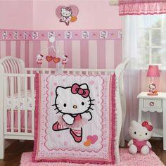 Hello Kitty Ballerina Nursery Set And Decor Love As A Pretty