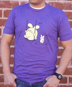 Can You Push Me? Men's T-shirt by Fat Rabbit Farm