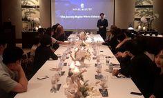 Whisky tasting seminar with Royal Salute during Citi World Luxury Expo, Seoul Whisky Tasting, Grand Hyatt, Seoul, Journey, Luxury, World, The Journey, The World