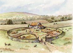 Een klein boerderijtje