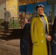 Tom Lovell (American, 1909-1997). Son of the Coach, Collier's | LotID #13003 | Heritage Auctions