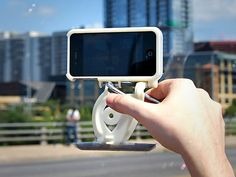 Stabil-i: Premium Video Stabilization iPhone Case by Dynamo Innovations Group, Inc., via Kickstarter.