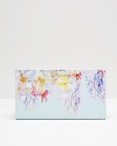 Hanging Gardens leather passport wallet I Gifts for Her | Ted Baker