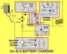 12v SLA Battery Charger | EEE COMMUNITY