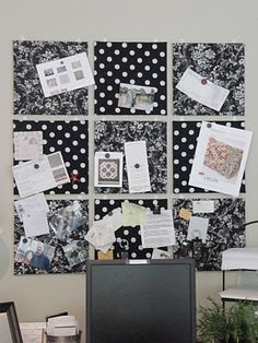 fabric lined cork boards