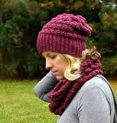 The Lenape Slouch Beanie - A free pattern by Croyden Crochet