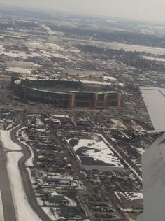 "Lambeau Field in Green Bay aka ""The Motherland"""