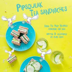 Mini sandwiches so easy your students can make them in a pinch! #Vegan #RecipesForKids #KindClassroom #CompassionForAnimals