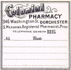 Antique Graphics Wednesday - Old Pharmacy Labels, haven't figured out where I want to use these yet but I am going to use these!