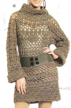 #Crochet dress with diagram