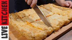 Αυτήν την ΖΑΜΠΟΝΟΤΥΡΟΠΙΤΑ την φάγαμε σε 5 λεπτά! Η οικογένεια μου την λά... Kitchen Living, Cornbread, Cooking Recipes, Ethnic Recipes, Youtube, Live, Food, Millet Bread, Chef Recipes
