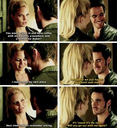Love it ♡♡♡ <<< Gaaahhh! The feels! This is what I ship! CaptainSwan being adorable!. :)