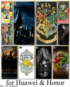 Harry potter all books Hard Transparent Case Cover for Huawei P6 P7 P8 P9 Lite Plus & Honor 6 7 4C 4X G7 Case Cover