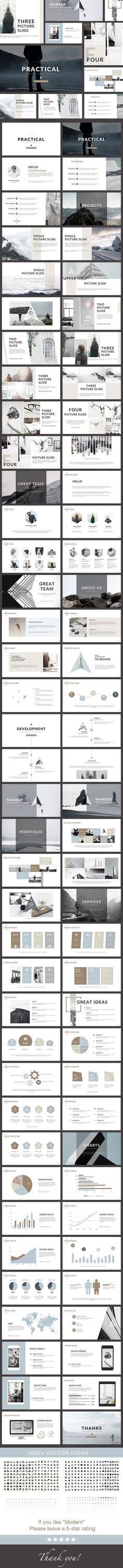 42 best best powerpoint templates images on pinterest keynote practical clean powerpoint presentation creative powerpoint templates toneelgroepblik Choice Image