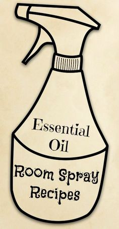 Essential oil room spray recipes so you can freshen your home naturally, without chemicals.